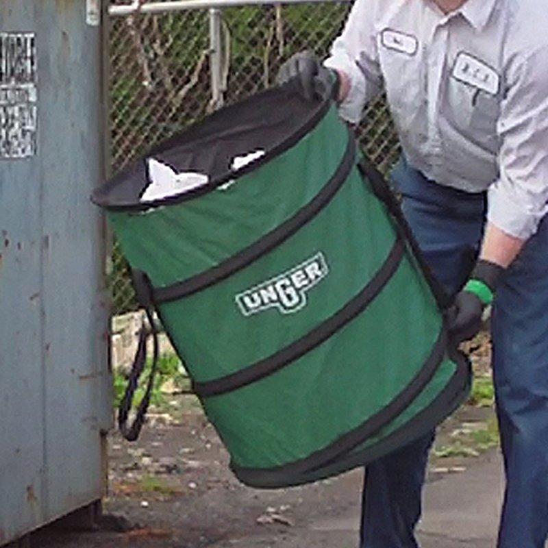 40 Gallon Green Unger NiftyNabber Bagger