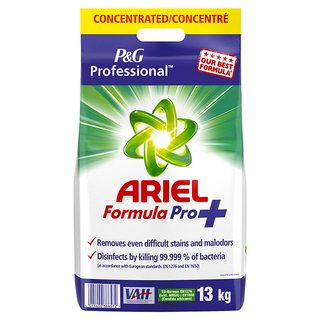 Ariel Formula Pro+ 29 lbs. / 13 kg Washing Powder Antibacterial