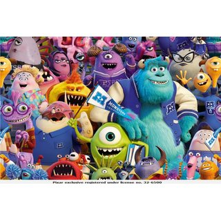 Cotton Jersey Fabric Monsters Inc. Digital Print colourful
