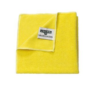 Unger SmartColor MicroWipe 2000 yellow 16 x 16 / 40 x 40 cm